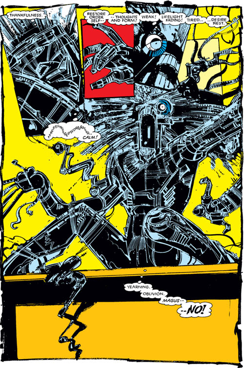 Warlock - Marvel Comics - New Mutants - Techno organic alien - Awakening