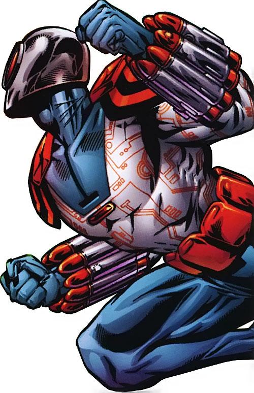 Warmaker One of the Ultramarines (JLA character) (DC Comics)