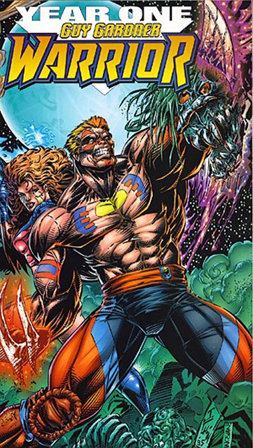 Warrior (Guy Gardner) cover art