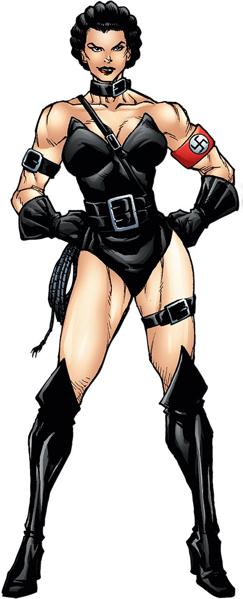 Warrior Woman (Captain America Invaders Nazi enemy) (Marvel Comics)