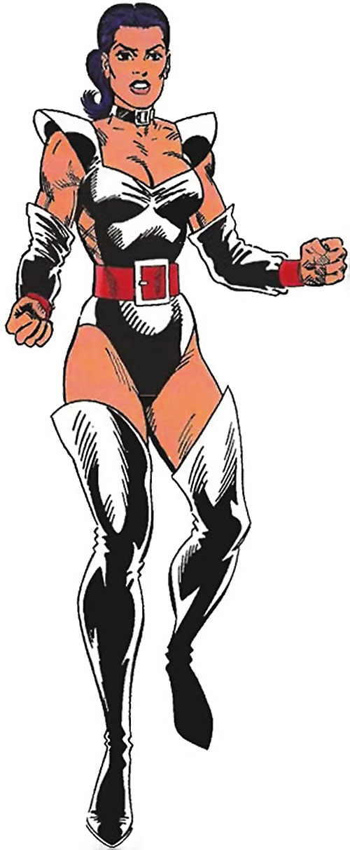 Warrior Woman (Captain America Invaders Nazi enemy) (Marvel Comics) TSR gamer handbook