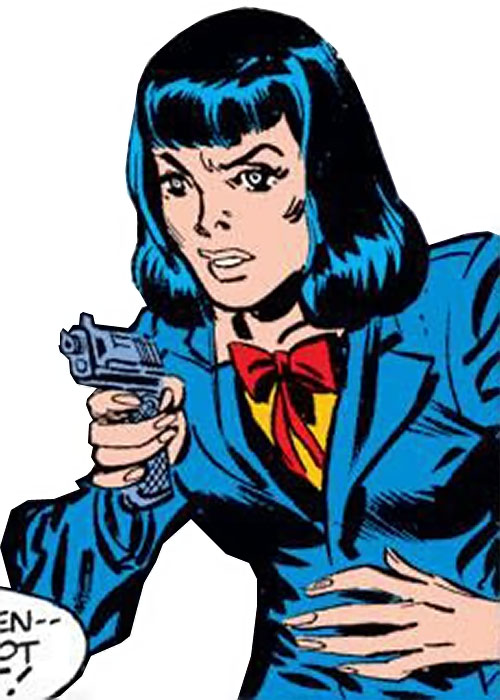 Warrior Woman (Captain America Invaders Nazi enemy) (Marvel Comics) undercover