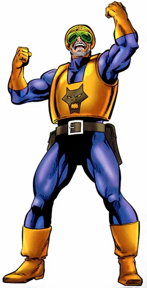 Watchdogs militiaman (Marvel Comics)