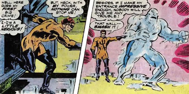 Water Wizard (Peter van Zante) summons a water golem