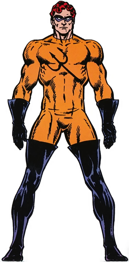 Water Wizard (Marvel Comics) from the master edition handbook