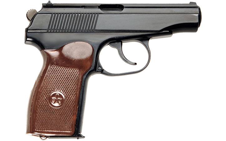 PM Makarov holdout pistol