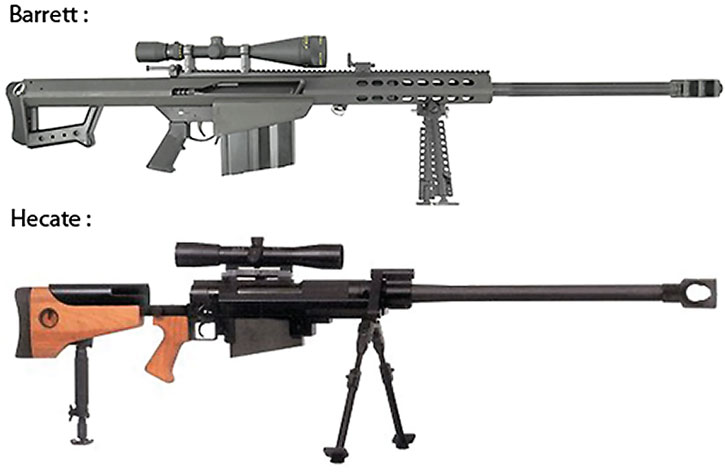 Anti-materiel rifles