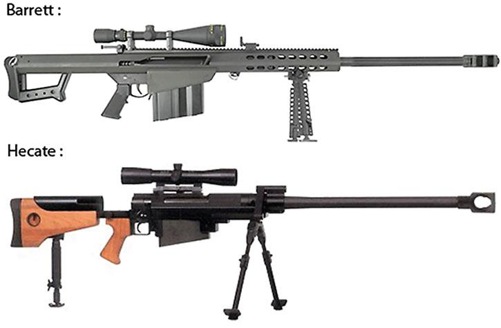 Anti-materiel rifles