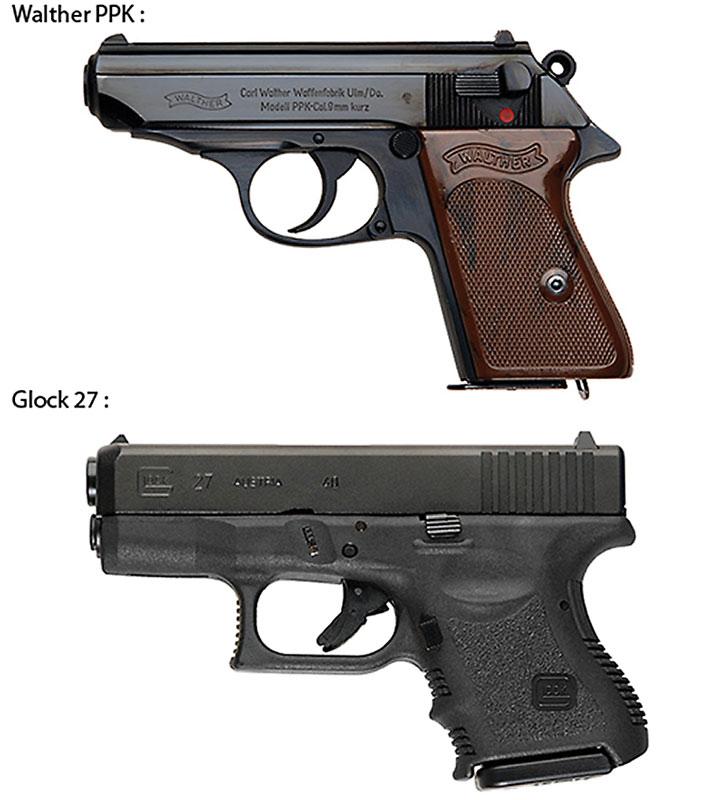 Badass holdout pistols