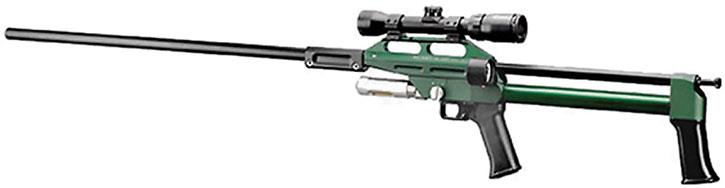 Typical tranq rifle