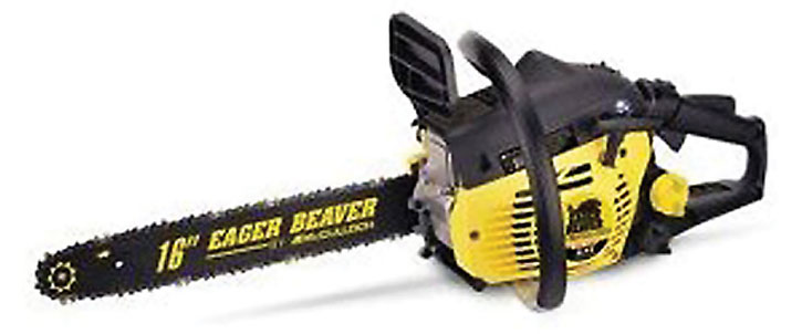 Eager Beaver chainsaw as in Doom