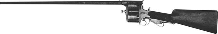 Weapon - Enouy dual cylinder rifle - old west