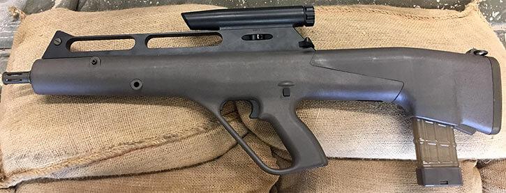 Flechette rifle prototype