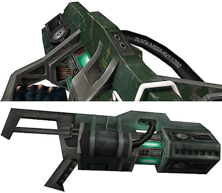 Half-Life displacer gun