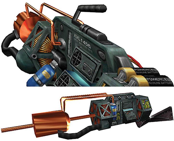Half-Life gauss gun