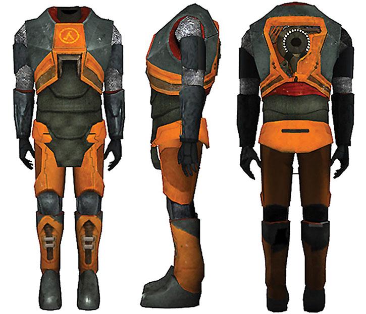 Half-Life HEV armor suit