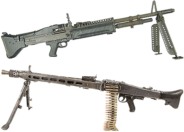 Light machineguns