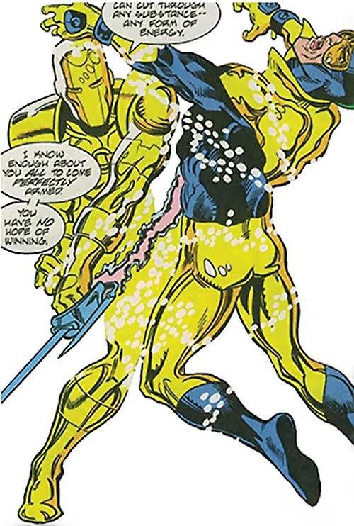 Weapons Master (JLA enemy) (DC Comics) vs. Booster Gold