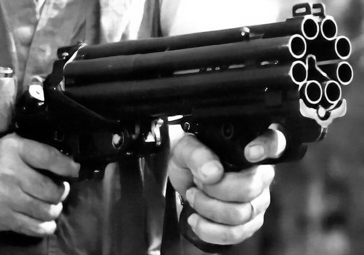 8-barrelled shotgun