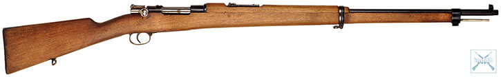 Spanish Mauser rifle