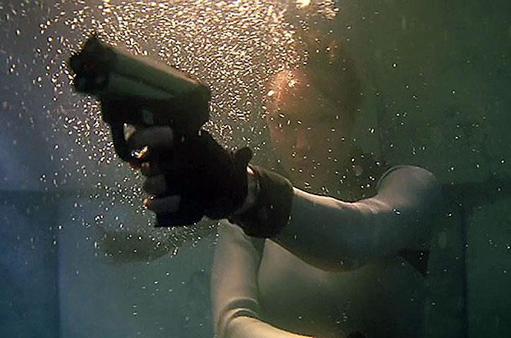 Underwater P11 pistol
