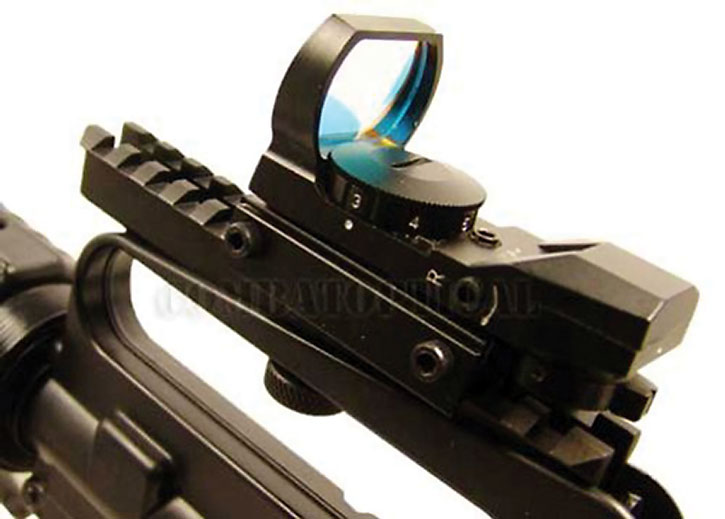 Reflex gun sight