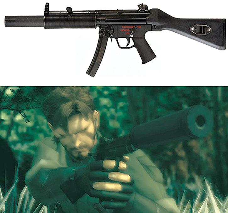 Silenced guns