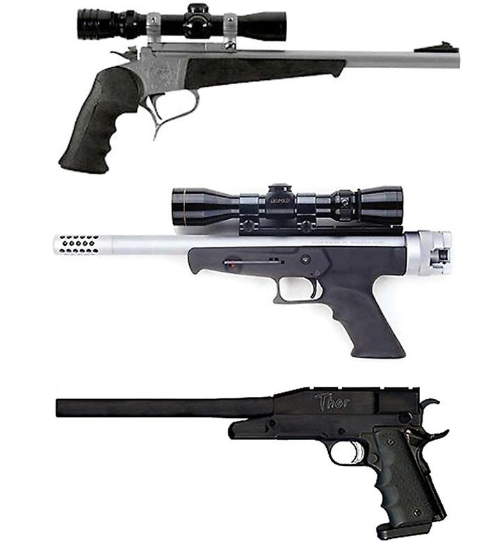 Sniper pistols