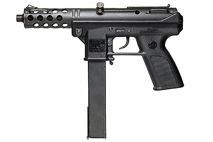 TEC9 machine pistol