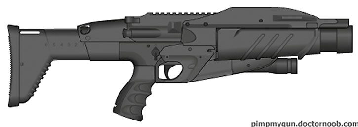 Tangler gun
