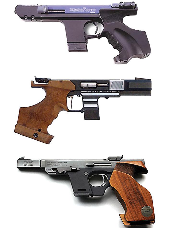 Target pistols