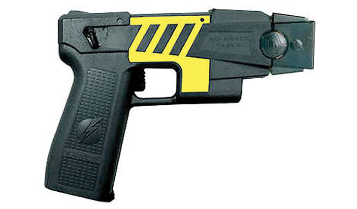 Typical TASER pistol