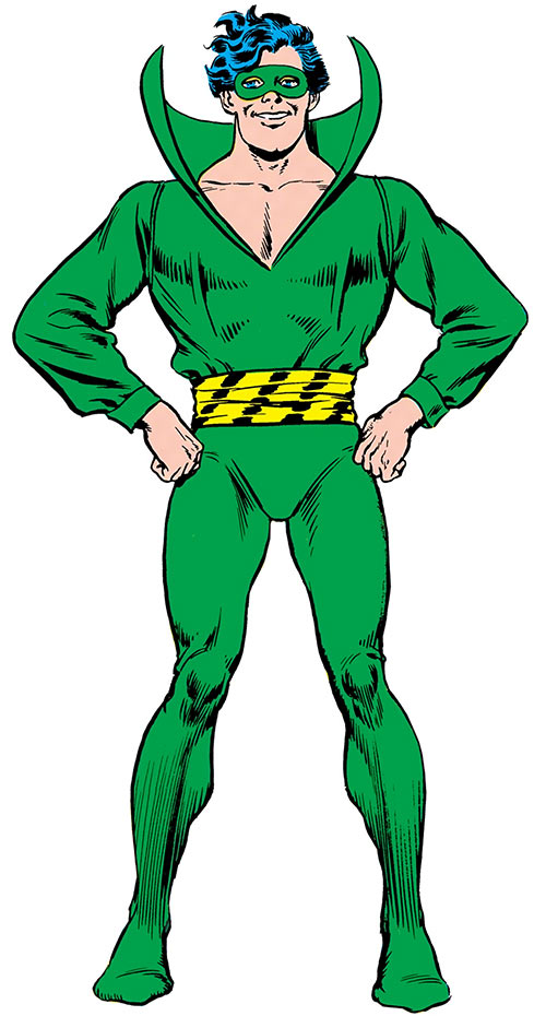 Weather Wizard (DC Comics) (Flash enemy) Infantino Anderson Who's Who