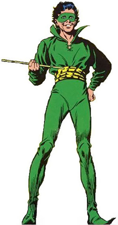 Weather Wizard (Flash enemy) (DC Comics) vintage art