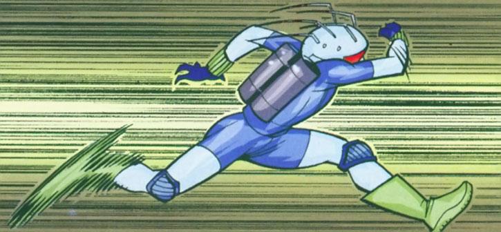 Well-Spoken Sonic Lightning Flash running