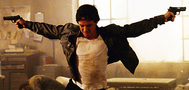 James McAvoy as Wesley Gibson in Wanted