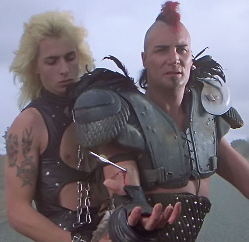 Wez (Vernon Wells in Mad Max) and Golden Youth