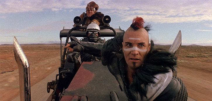 Wez (Vernon Wells) in Mad Max