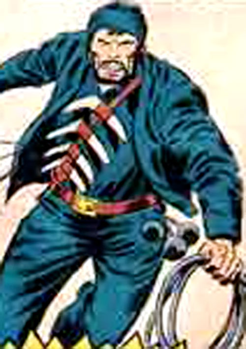 Whip of the Big Jim PACK with his exotic weapons