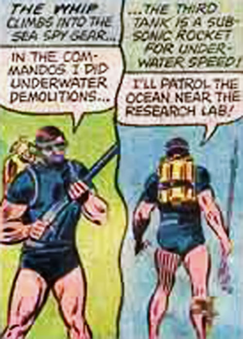 Big Jim SCUBA sea spy outfit