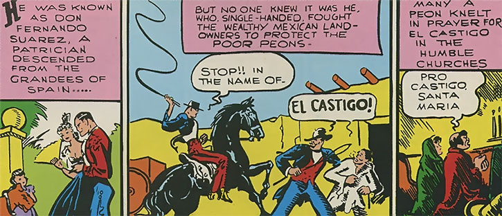 The Whip (Rod Gaynor) aka the Golden Age Castigo