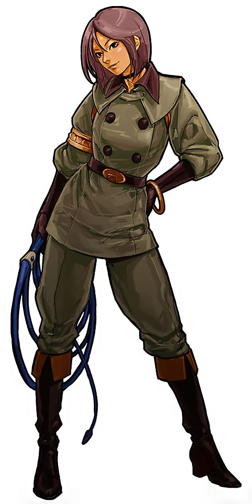 Whip (King of Fighters) (Muchiko) looking cute