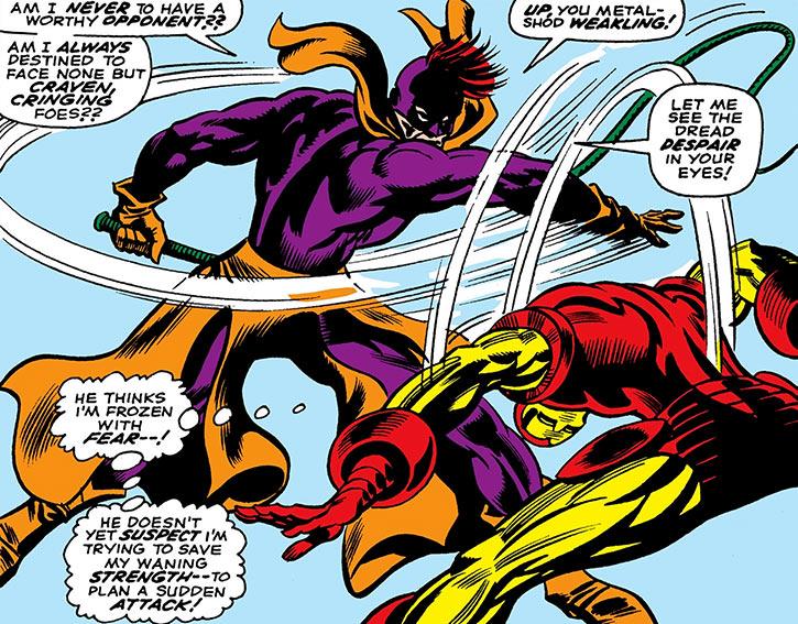 Whiplash (Mark Scarlotti) vs. Iron Man (Marvel Comics)