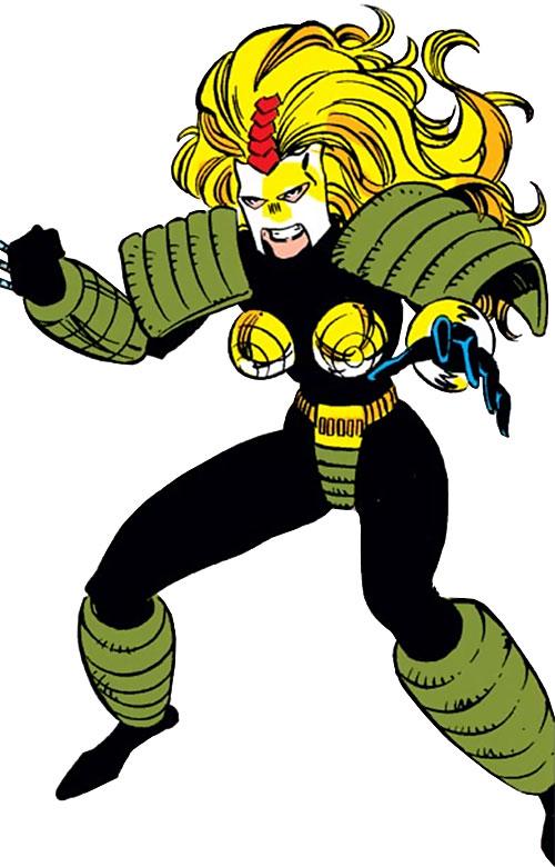 Whiplash (Marvel Comics) (Leeann Foreman)
