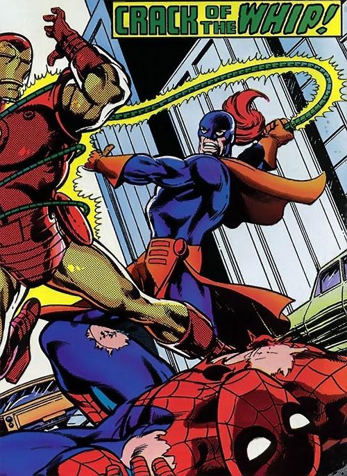 Whiplash vs. Iron Man and Spider-Man