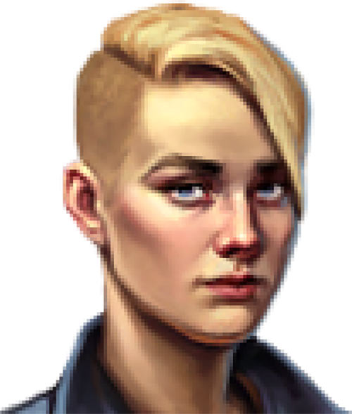 Vera Englund (Whispers of a Machine video game) portrait