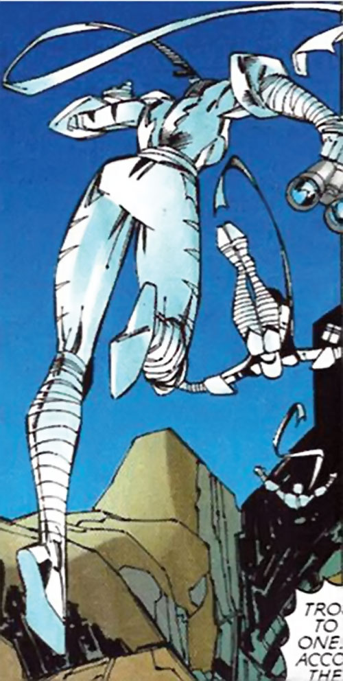 White Tiger of the Heroes for Hire (Marvel Comics) acrobatic superhuman leap