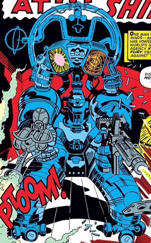 Wild Bill SHIELD security robot (Marvel Comics)