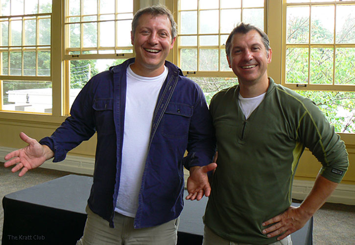 The Wild Kratts (Chris and Martin)