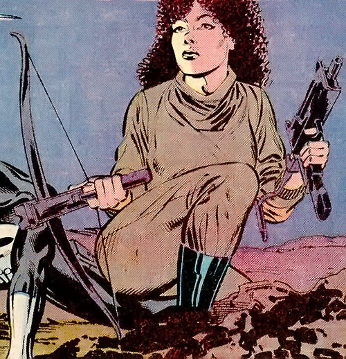 Wild Rose (Punisher ally) (Marvel Comics)